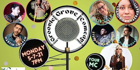 Groovie Grove Comedy - Monday SHOW tickets