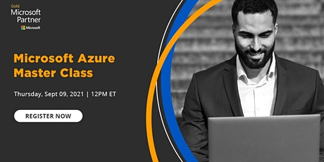 Webinar - Microsoft Azure Master Class tickets