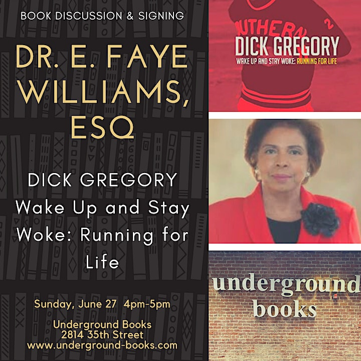 Book Discussion & Signing  with Dr. E. Faye Williams, Esq. image