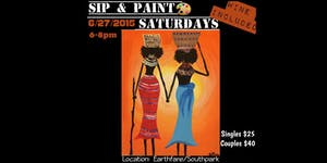 Sip and Paint Saturdays (Includes Complimentary Wine)