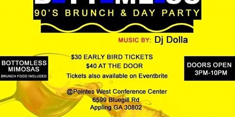 90's brunch and day party tickets