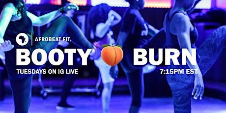 Booty Burn™ (Instagram LIVE) tickets