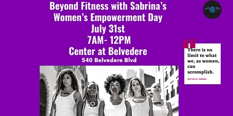 Beyond Fitness with Sabrina's Women Empowerment Event tickets