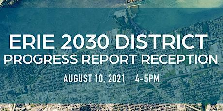Erie 2030 District Progress Report Reception 2020 tickets