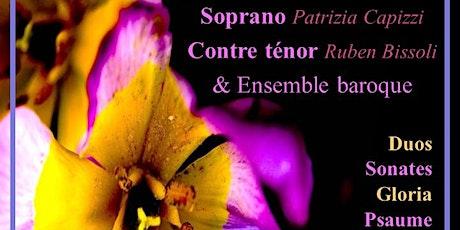 Musique Baroque pour Soprano,Contre ténor& Ensemble baroque billets