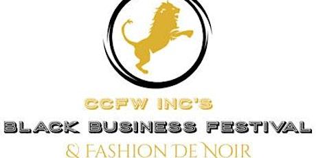 CCFW INC's 2nd Black Business & Fashion Fest Vendor/Designer Registration tickets