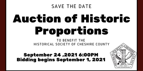Auction of Historic Proportion tickets
