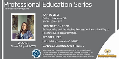 Professional Education Series: Brainspotting and the Healing Process tickets