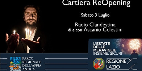 Radio Clandestina, spettacolo di e con Ascanio Celestini biglietti