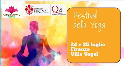 Festival dello yoga Firenze biglietti