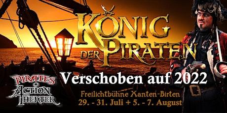 WIRD AUF 2022 VERSCHOBEN!!! Pirates Action Theater Xanten 2020/2021 Tickets