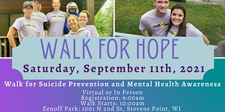 2021 Walk for Hope tickets