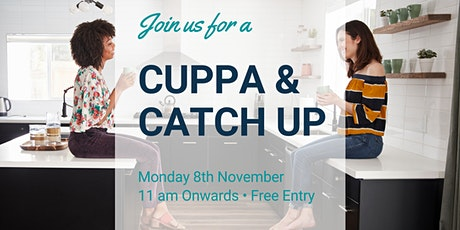 Cuppa & Catch Up at Socially Shared Online tickets