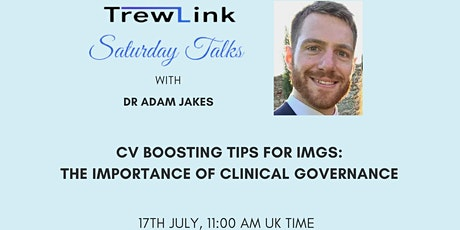 CV boosting tips for IMGs: The importance of Clinical Governance tickets
