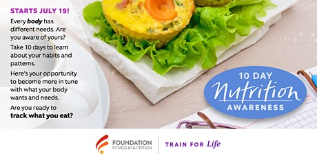 10 Day Nutrition Awareness Tracking tickets