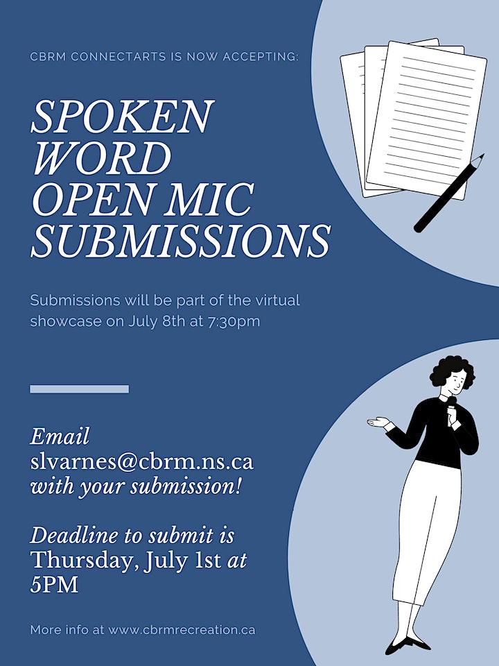 Spoken Word Open Mic image