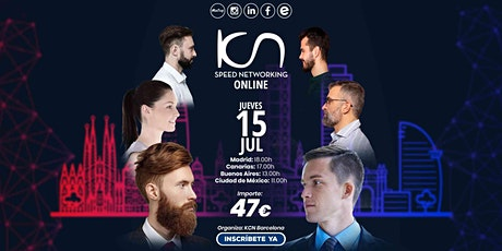 KCN Barcelona Speed Networking Online 15 Jul entradas