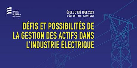 Défis et possibilités de la gestion des actifs dans l'industrie électrique billets