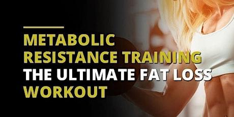 MRT - Metabolic Resistance Training (Wed Eve - 45 Min) tickets