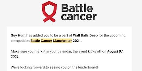Battle Cancer Manchester tickets