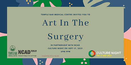 Culture Night Art In The Surgery tickets