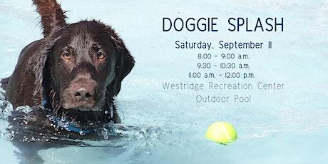 Doggie Splash tickets