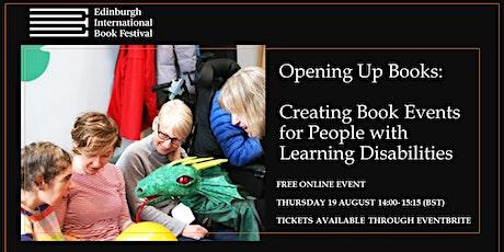 Edinburgh International Book Festival: Opening Up Books Tickets