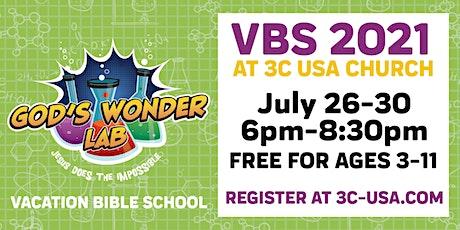 God's Wonder Lab VBS   Delmar Campus tickets