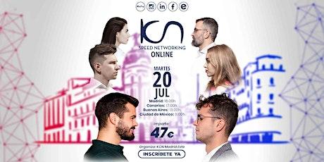 KCN Madrid Este Speed Networking Online 20 Jul tickets