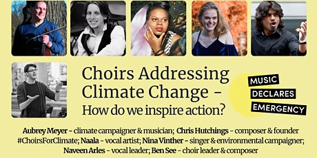 Choirs addressing Climate Change tickets