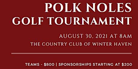 Polk Noles Golf Tournament tickets