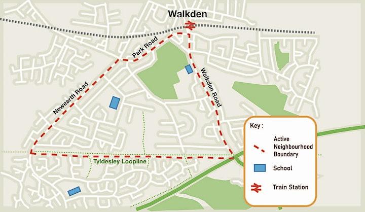 Salford Walkden Active Neighbourhood  WORKSHOP 1 image