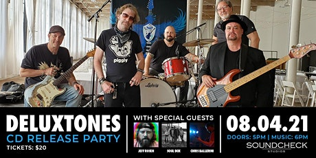Deluxtones CD Release Party tickets