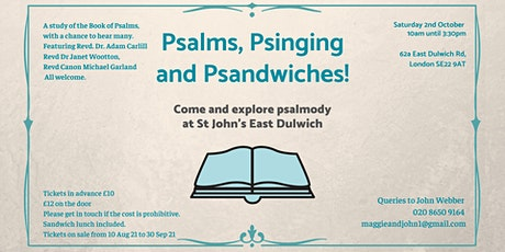 Psalms, Psinging and Psandwiches tickets