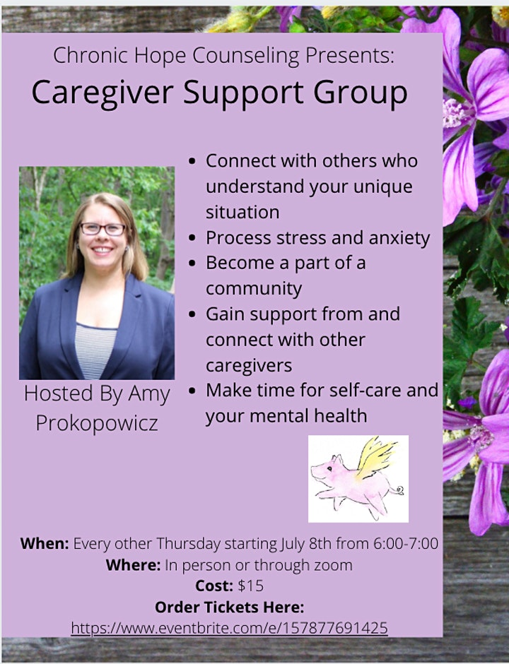 Caregiver Support Group July 8th image