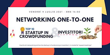 Speed Meeting one-to-one / Startup - Investitori biglietti