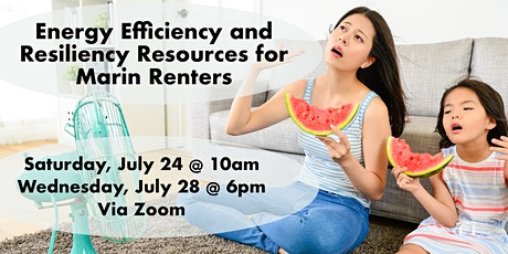 Energy Efficiency and Resiliency Resources for Marin Renters tickets