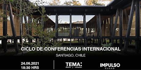 TEMA: Conferencia // Guillermo Hevia entradas