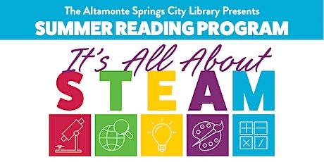 City Library - Summer Reading Program - Grades 4-6 tickets