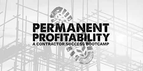 Permanent Profitability Bootcamp tickets