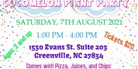 Cocomelon Paint Party tickets