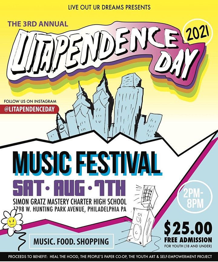 2021 Litapendence Day Music Festival image