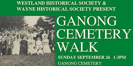 Ganong Cemetery Historic Tour tickets
