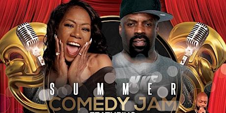 Summer Comedy Jam Featuring TK Kirkland Melanie Co tickets