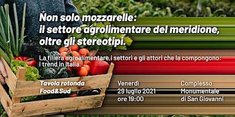 Tavola rotonda / Food&Sud biglietti