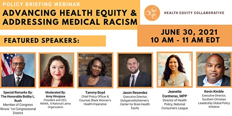 Special Briefing: Advancing Health Equity & Addressing Medical Racism tickets