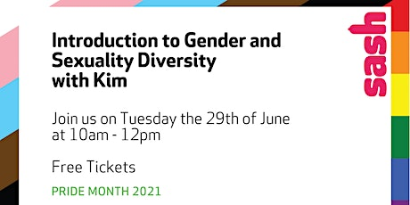 Introduction to Gender and Sexuality Diversity tickets
