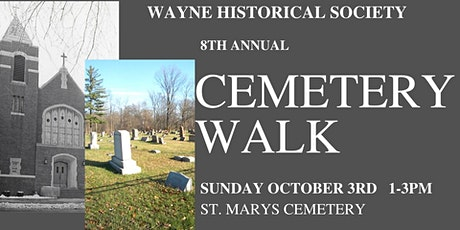 St. Marys Cemetery historical walk and tour tickets