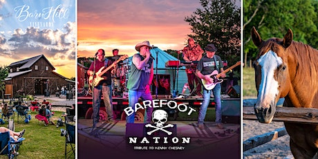 Kenny Chesney covered by Barefoot Nation and great Texas wine!!! tickets