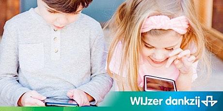 Kindontwikkeling: kinderen lekker in hun vel. tickets